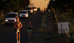 photo of runners
